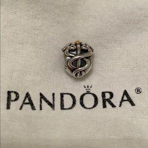 ❤️Caduceus❤️ Pandora Retired Charm